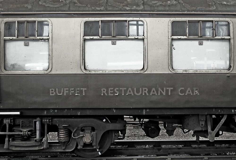 photoblog image Dine in style on British Rail!
